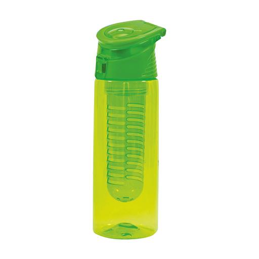 """בקבוק שתיה, 750 מ""""ל מסננת לחליטת פירות או עלים"""