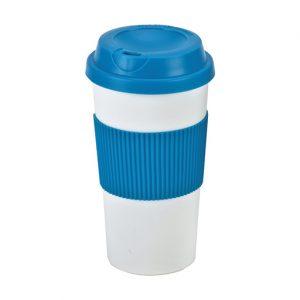 כוס טרמית מפלסטיק עם דופן כפולה