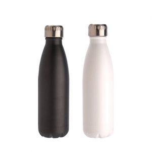 """בקבוק נירוסטה ששומר על חום וקור 500 מ""""ל"""
